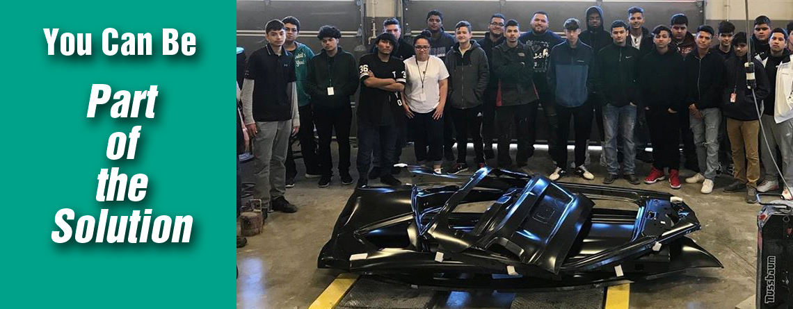 CREF Invites Dealers to Become Part of the Solution with New Initiative – Over 500 Collision School Programs Requesting Parts
