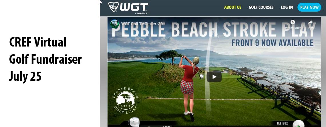 Collision Repair Education Foundation Virtual Golf Fundraiser July 25